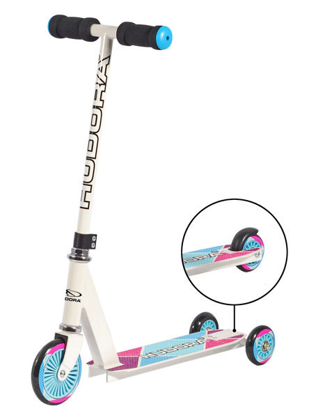 patinete kids scooter white hudora evolutivo