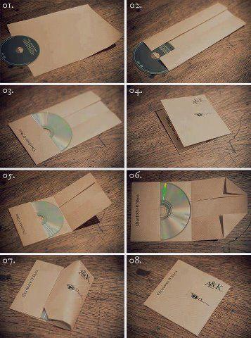Proteger CD's con una hoja de papel