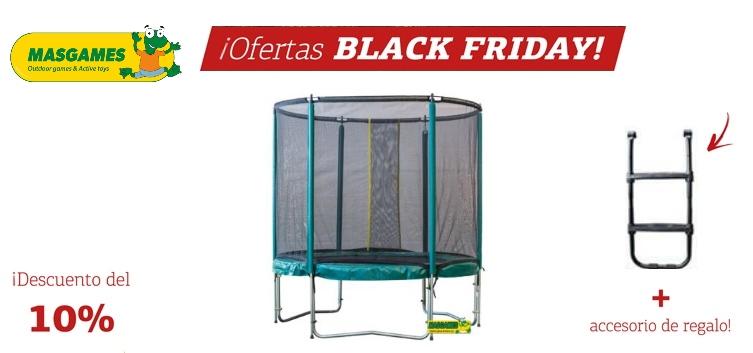 Black Friday en Topludi con productos MASGAMES