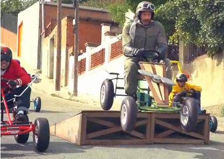 Karts de pedals BERG TOYS al anunci del videojoc Angry Birds Go!
