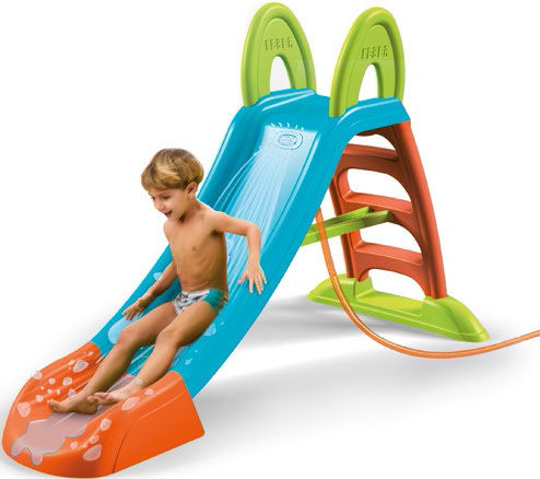 tobogan feber slide plus with water