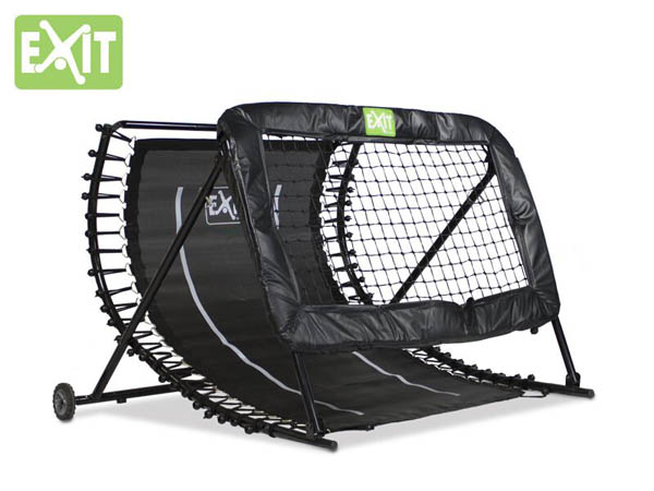 Bouncer football training station - indoor soccer rebounder wall