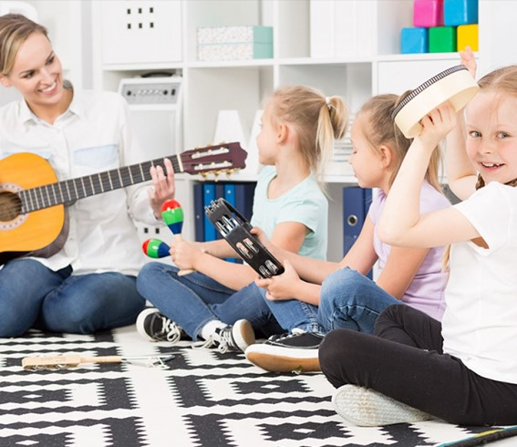 instruments musicals d'exterior